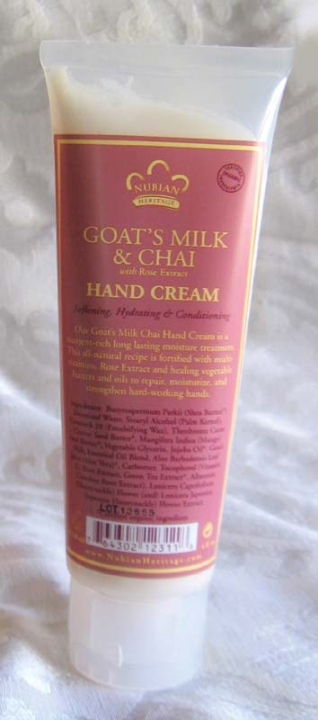 Goat S Milk Chai Hand Cream 4 Oz Shabby Sheek Plus